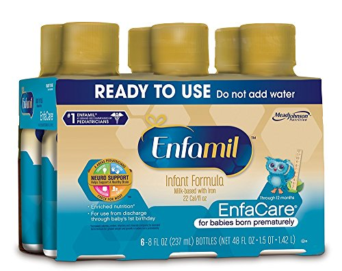 Enfamil EnfaCare baby formula - Ready-to-Use 8 fl oz Plastic