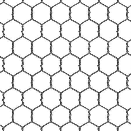 Elizabeth's Studio Chicken Wire White Quilt Fabric Style 355 (Novelty Quilt Fabric)