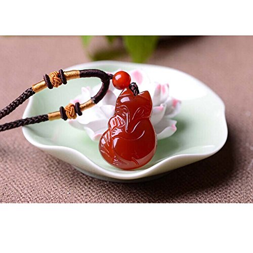 Buy red jade necklace for women
