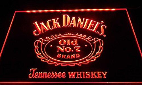 Old Books & Plans on CD Jack Daniel's Whiskey LED Neon Sign Red