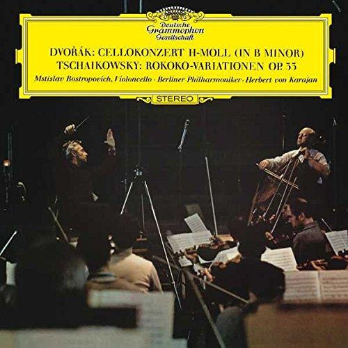 Dvorak: Cello Concerto I n B Minor, Op.104, B . 191 / Tchaikovsky: Var [LP]