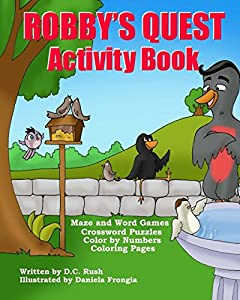 Robby's Quest Activity Book