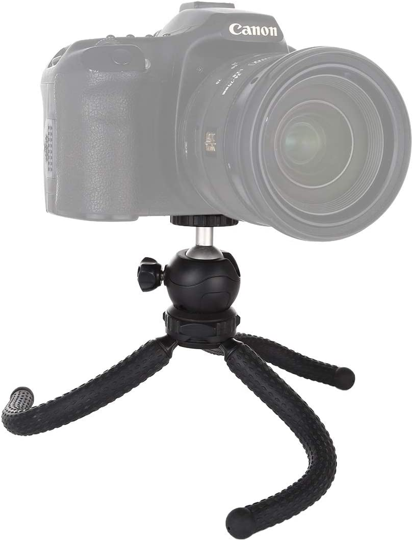 GoPro GuiPing Mini Octopus Flexible Tripod Holder with Ball Head for SLR Cameras Size: 25cmx4.5cm Durable Cellphone