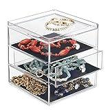 iDesign Clarity BPA-Free Plastic 3-Drawer Jewelry