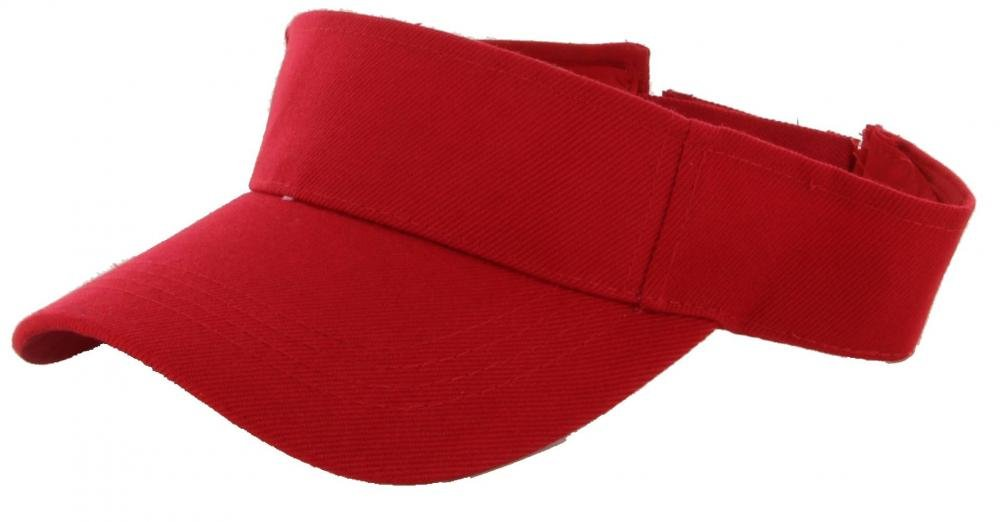 Red_(US Seller)Outdoor Sport Hat Sun Cap Adjustable Velcro
