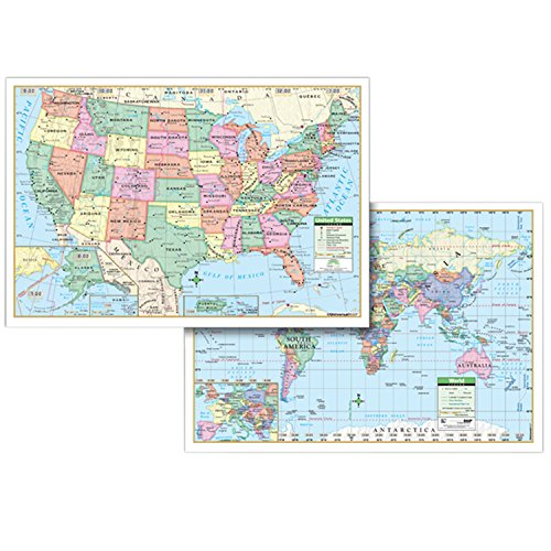 world and us map - 8