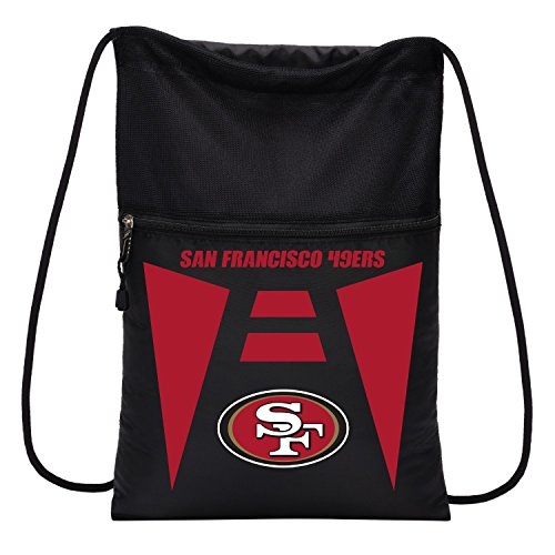 NFL San Francisco 49ers Sports Fan Backpacks, black, One Siz