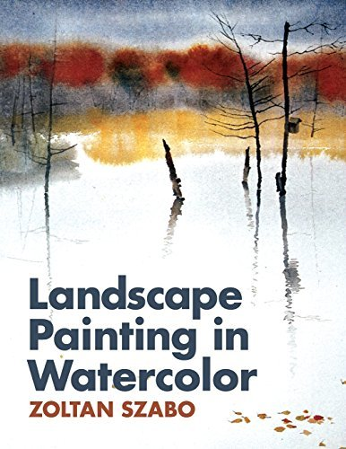 Landscape Painting in Watercolor by Zoltan Szabo (2014-06-10) (Landscape Painting In Watercolor By Zoltan Szabo)