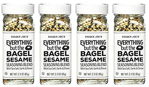 Trader Joe's Everything but the Bagel Sesame Seasoning Blend 4.3 Oz