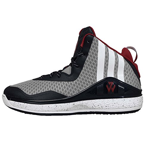 adidas J Wall, Uomo (LTONIX/FTWWHT/SCARLET)