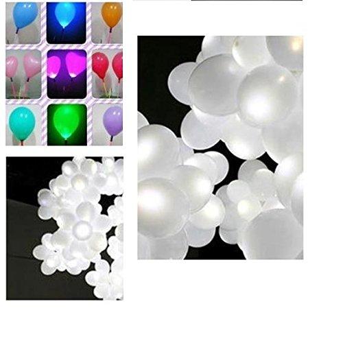 amazon com hosl 60 pack white led party lights decoration light for