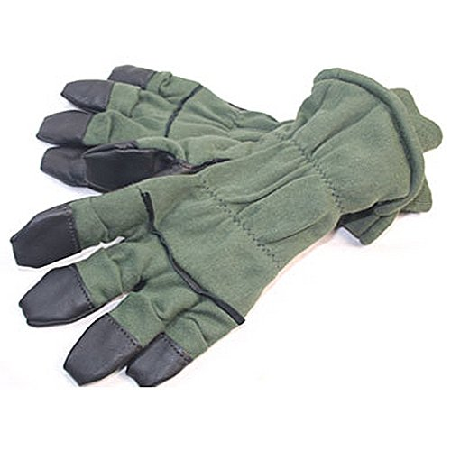 Nomex Air Force Cold Weather Intermediate Flyers Gloves HAU-15/P - Size 6 (Military Nomex Flyers)