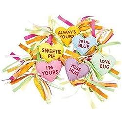 Valentine's Day Conversation Candy Hearts Garland
