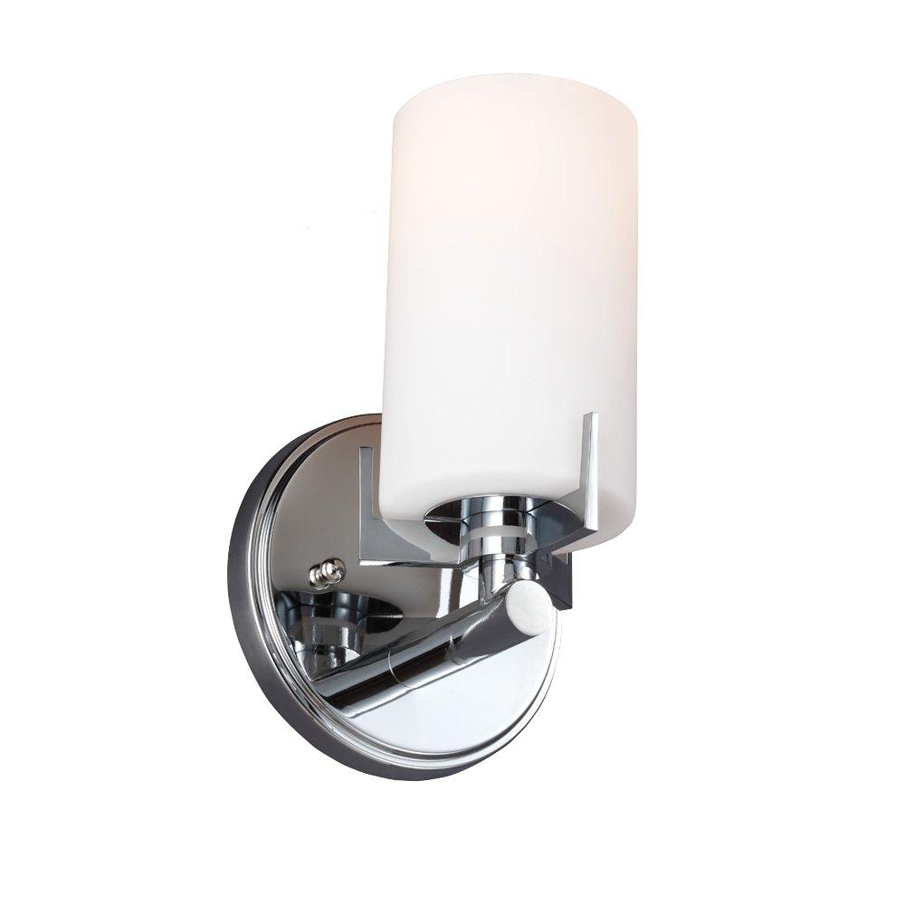 Feiss VS39001-CH 1-Bulb Vanity Strip Light Fixture