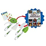 Cooking With Cookbook and 5-piece Pizza Kit Set