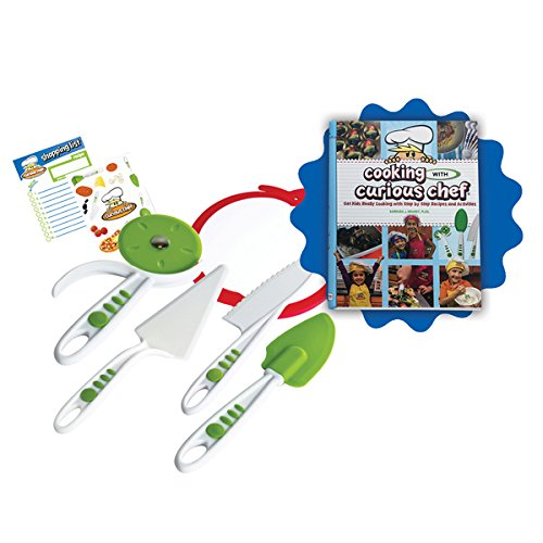 Cooking With Cookbook and 5-piece Pizza Kit Set by Generic