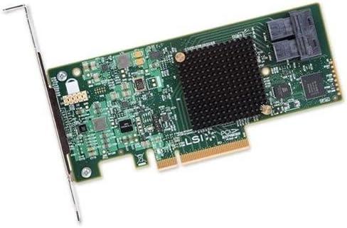 LSI Logic Controller Card (Open Box) H5-25573-00 9300-8i SGL SAS 8Port 12Gb/s PCIE3.0 HBA