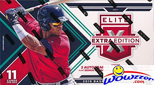 2016-panini-baseball-elite-extra-edition-factory-sealed-retail-box-with-five5-autographs-or-memorabi