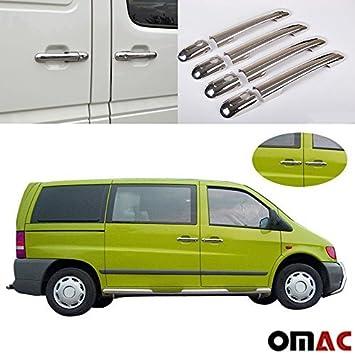 Mercedes Sprinter W901 W903 Vito W638 Volkswagen V LT35 Puerta asas paneles Acero Inoxidable: Amazon.es: Coche y moto