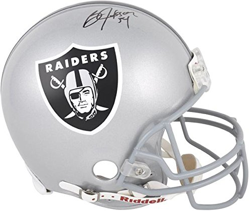 Oakland Raiders Bo Jackson Autographed Pro-Line Riddell Authentic Helmet - Fanatics Authentic Certified ()