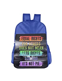 Mokjeiij Equal Rights For Others Does Not Mean Less Rights For You Unisex Girls Boys School Backpack Children's