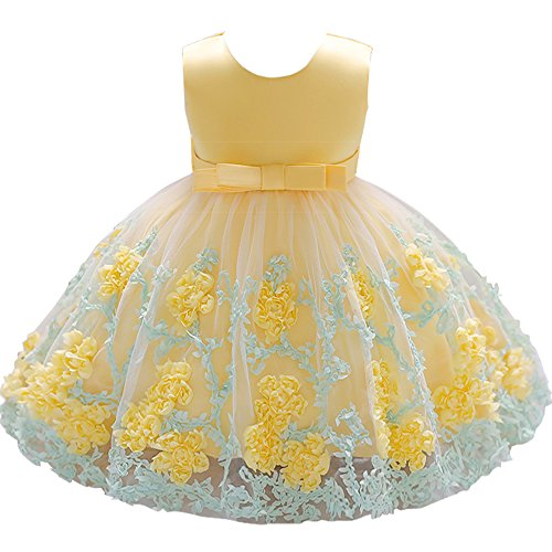Jup'Elle Baby Girl Dress Flower Ruffles Party Wedding Pageant Princess Dresses