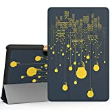 """MoKo Acer Tab 10 A3-A40 Case, Ultra Compact Protection Premium Slim Lightweight Smart Shell 3-Folding Stand Cover Case for 10.1"""" Acer Iconia Tab 10 A3-A40 Andriod Tablet 2016 Release, City Night View"""