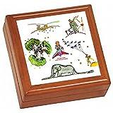 『 星の王子さま 』の写真タイル付き小物入れ(Jewelry Box)( 星の王子さまシリーズ )