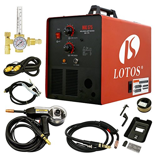 LOTOS MIG175 175AMP Mig Welder with Free Spool...