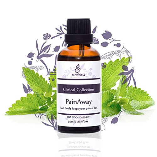 PainAway Synergy for Muscle Pain Relief - Natural Topical Remedy for Soreness, Back Pain, Tennis Elbow, Fibromyalgia, Sciatica, Carpal Tunnel, Sore Muscles, Arthritis & Chronic Aches - 1.7 fl oz/ 50ml