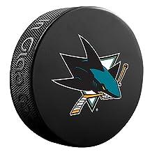 San Jose Sharks Basic Logo Souvenir Hockey Puck