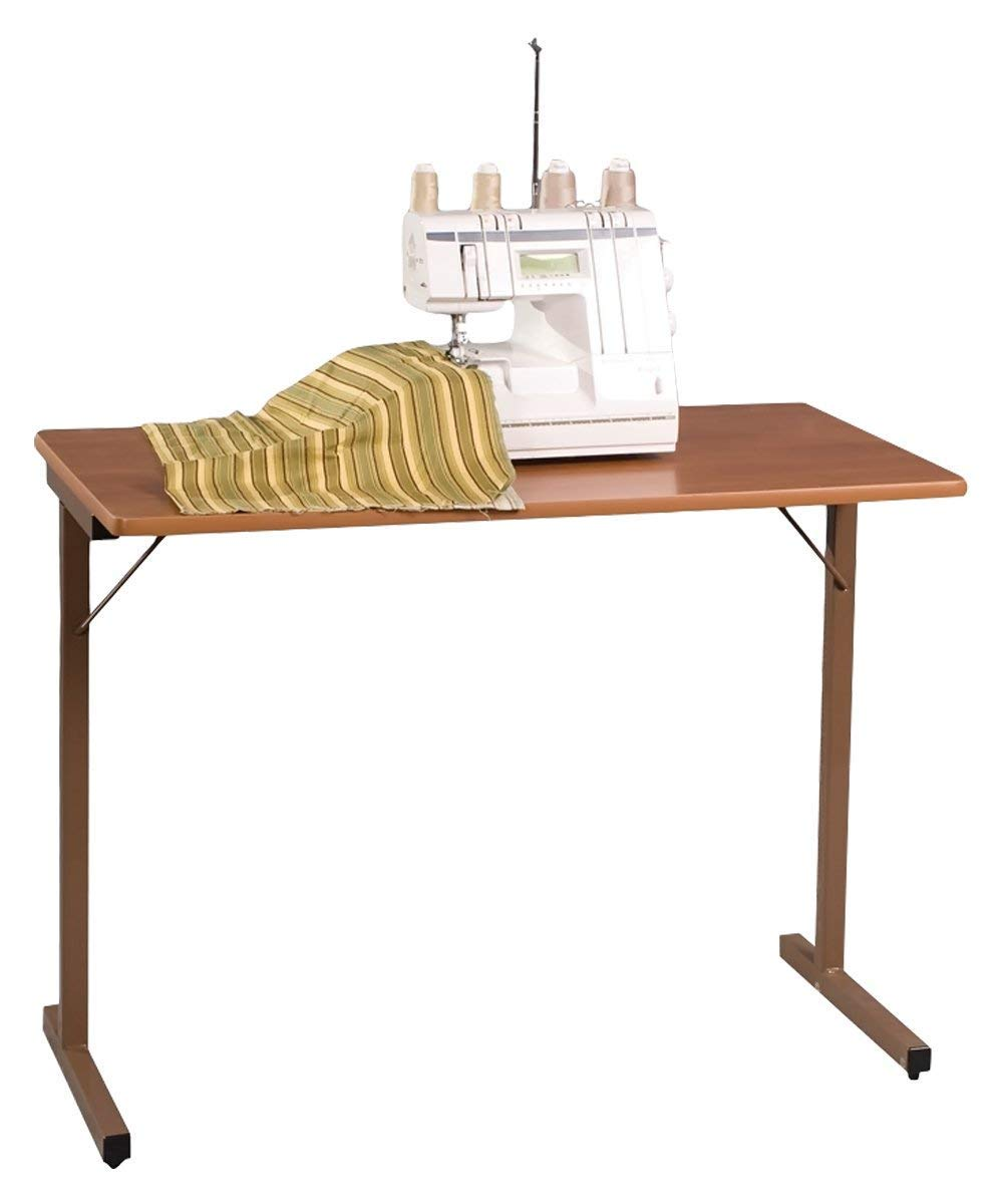 Fashion Cabinets 295 Utility Folding Sewing Machine Table in Maple by Fashion