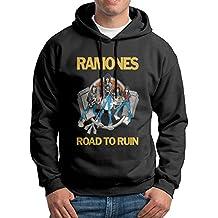 Ramone Road To Run Black Youth Sweatshirts