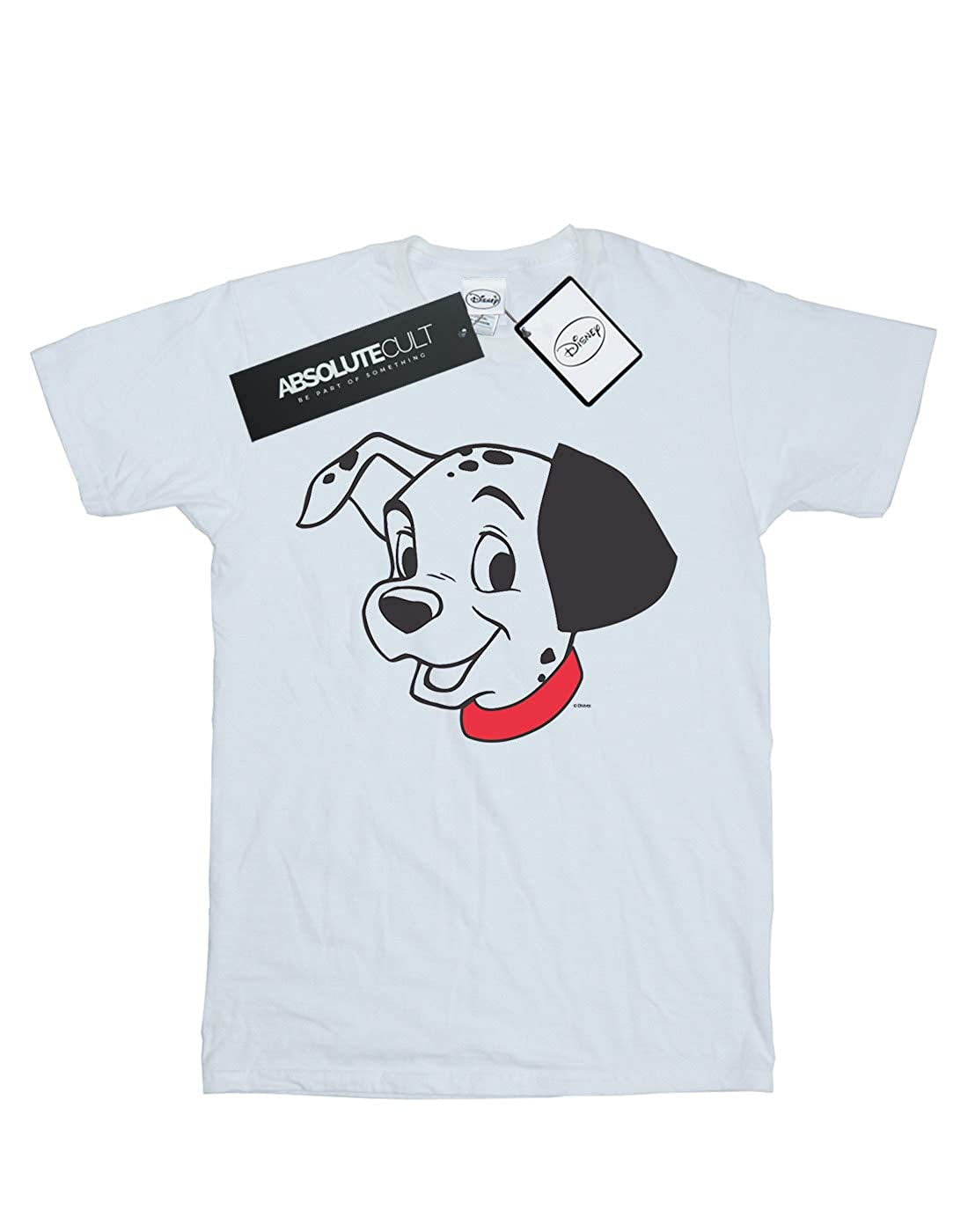 Disney Boys 101 Dalmatians Dalmatian Head T-Shirt