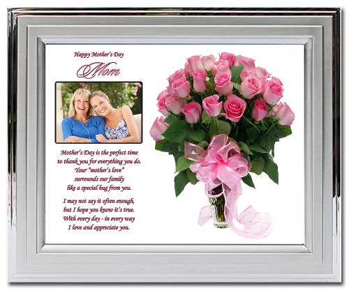 Mother's Day Gift for Mom - Rose Design and Poem in 8x10 ...