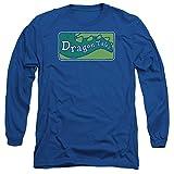 TV Show Logo -- Dragon Tales Adult Long-Sleeve T-Shirt