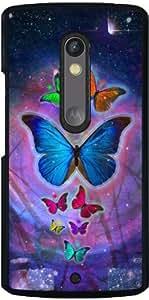 Funda para Motorola Moto X Play - Animales De Fantasía De La Mariposa by WonderfulDreamPicture
