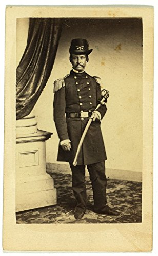Officers Sword Dress (8 x 12 Photo of [Officer David Hunter, full-length portrait in full military dress, standing, holding sword, facing front] / E. & H.T. Anthony (Firm), 501 Broadway, N.Y. 1900 82a)