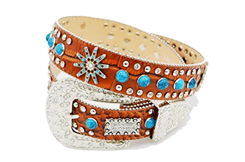 BELTSWEB 5505 Women's Spur Concho Classic Western Belt - Ladies Western Accessories