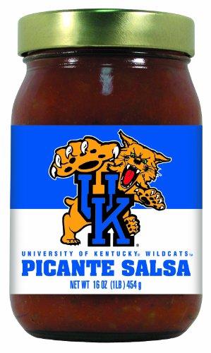 (12 Pack KENTUCKY Wildcats Picante Salsa Medium)