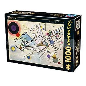 D Toys Puzzle Da 1000 Pezzi 72849ka05 Tinta Unita