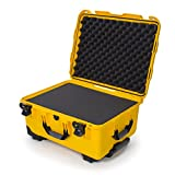 Nanuk 950 Waterproof Hard Case with Wheels and Foam Insert - Yellow