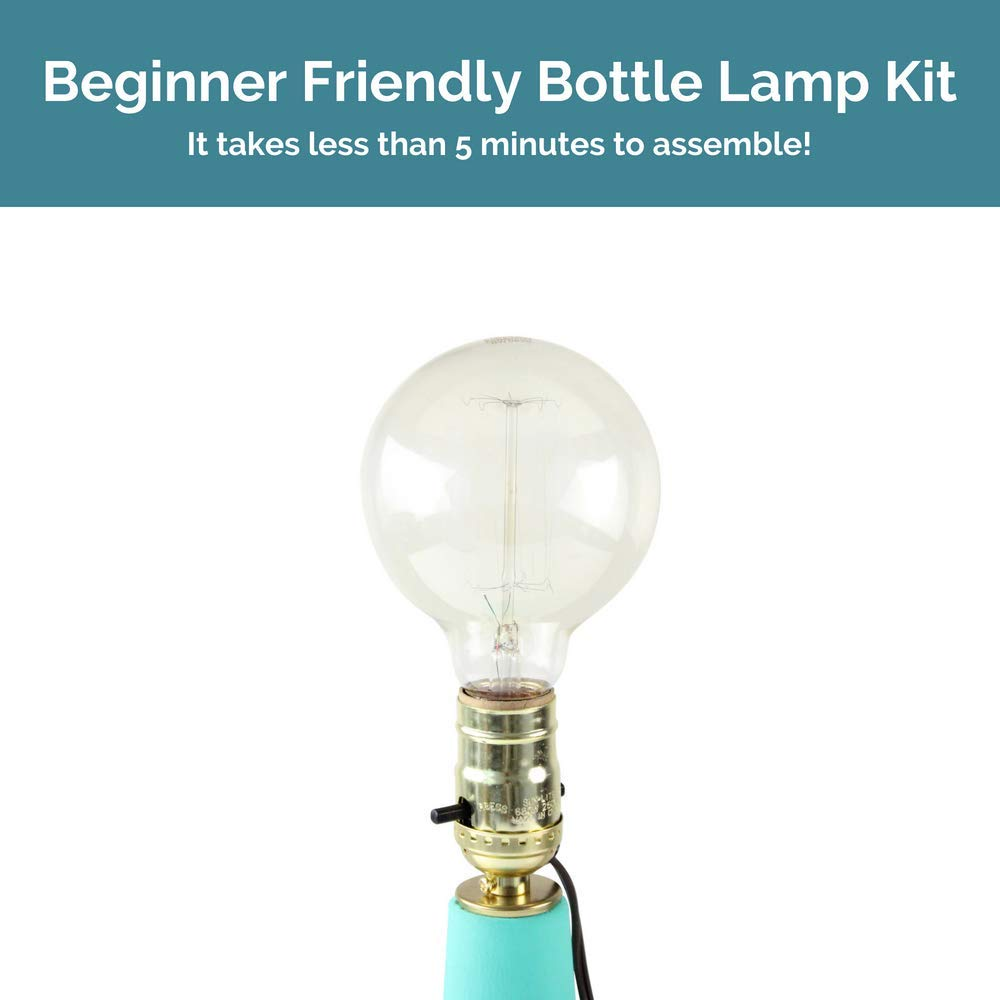 Super Bottle Lamp Kits Build Your Own Lamp With Lamp Kits For Liquor Wiring Digital Resources Operpmognl