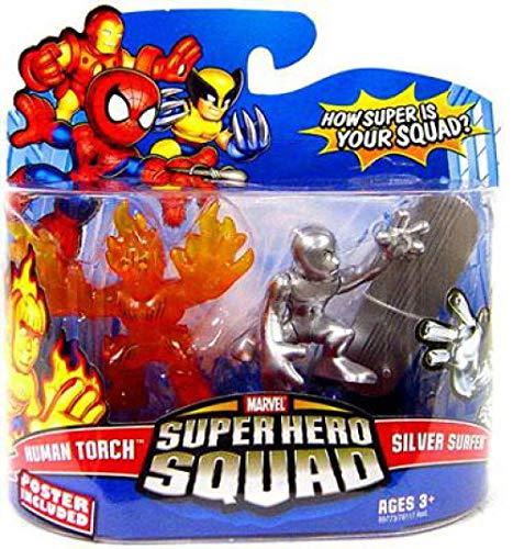 (Marvel Super Hero Squad Human Torch vs. Silver Surfer)