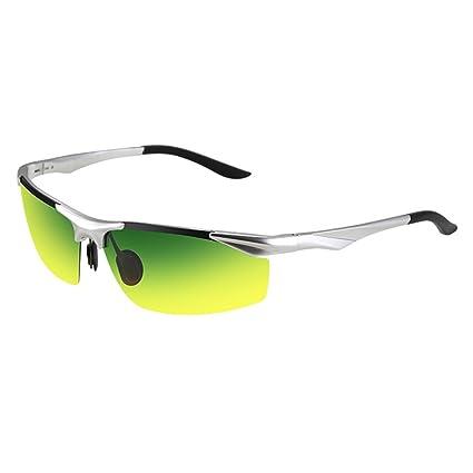 Gafas de Sol Gafas de Visión Nocturna para Hombres Gafas de Sol para Ojos Gafas polarizadas