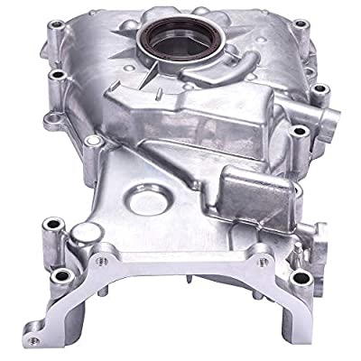 OCPTY Timing Chain Kit & Oil Pump Fit For 1998-2001 Nissan Altima: Automotive