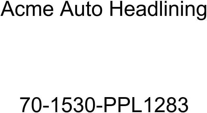 6 Bow 1970 Pontiac Lemans 4 Door Hardtop Acme Auto Headlining 70-1530-PPL1283 Dark Green Replacement Headliner