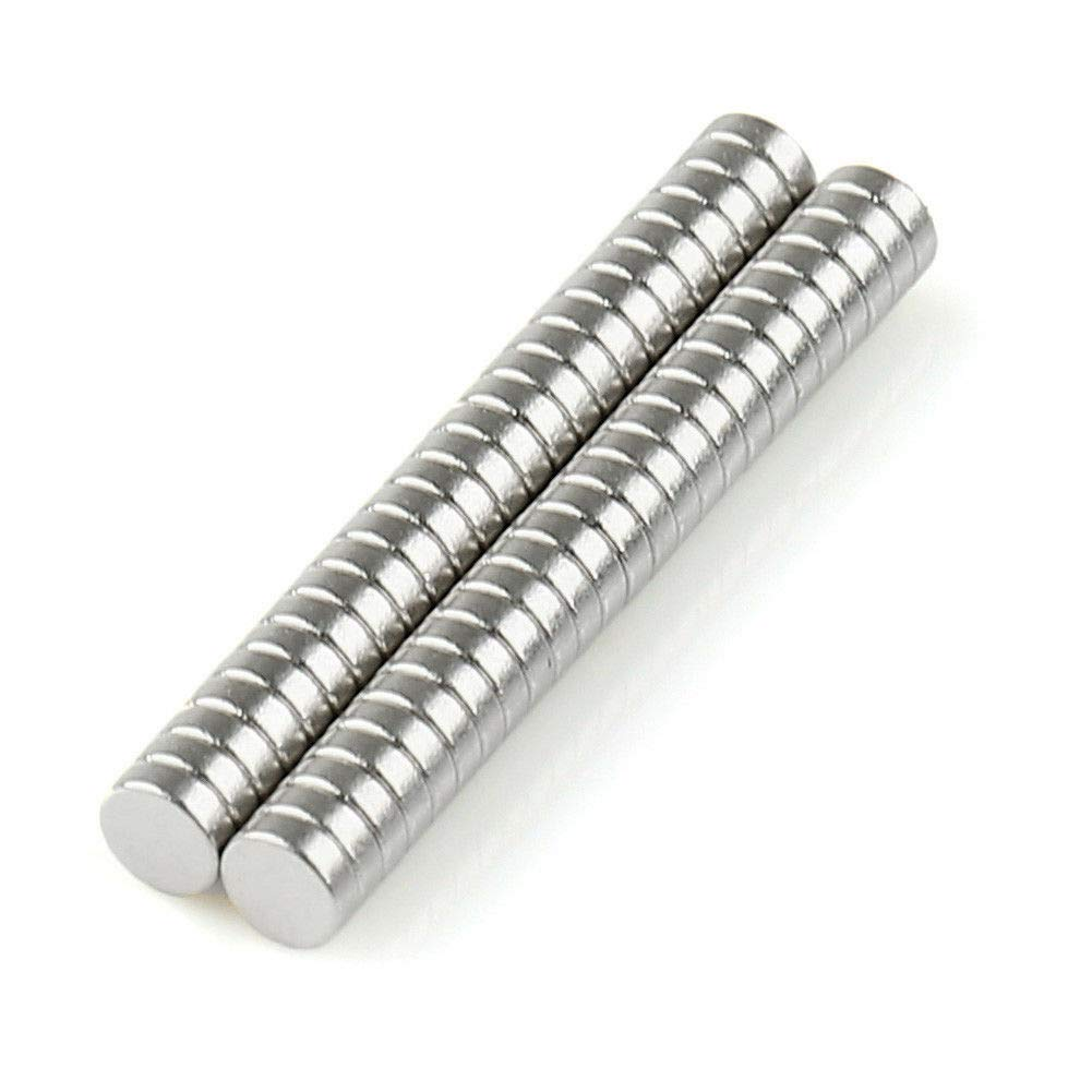 MB-THISTAR 3mm x 1mm Tiny Neodymium Disc Magnets N50 Super Strong-100 500 pcs