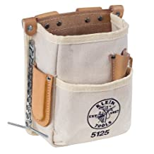 Klein Tools 5125 5-Pocket Heavy-Duty Tool Pouch