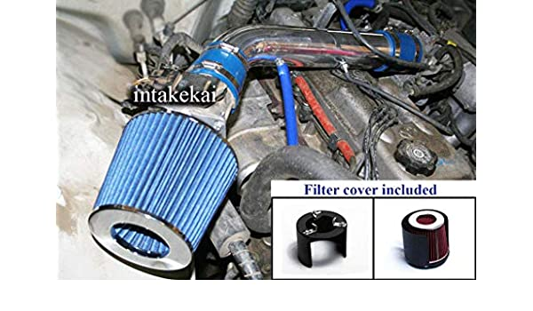 PERFORMANCE AIR INTAKE KIT FIT 1989-1994 TOYOTA PICKUP 2.4L BLACK 1990-1994 TOYOTA 4RUNNER 2.4L 4CYL ENGINE